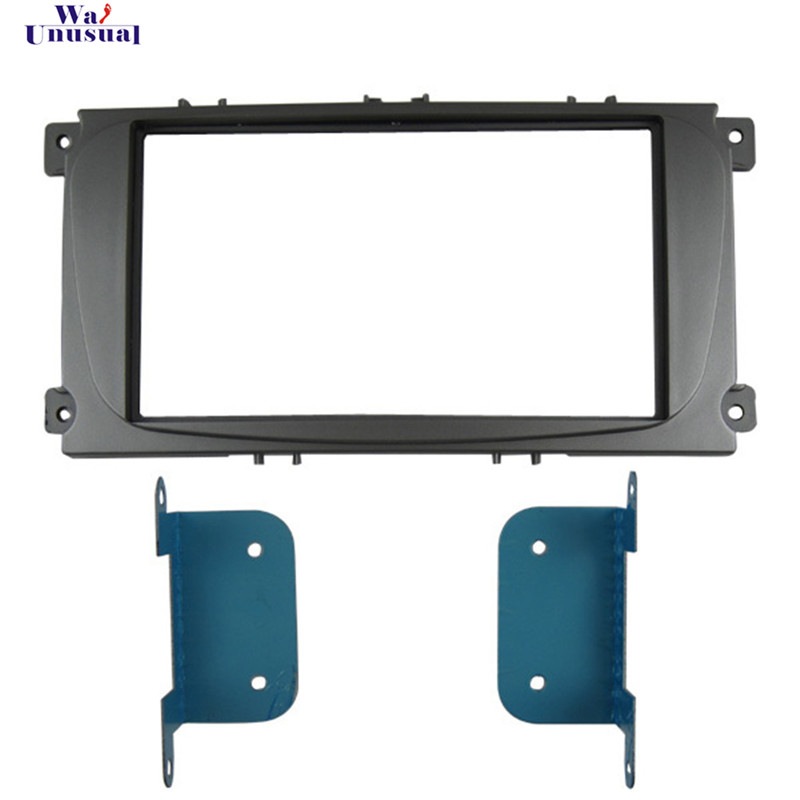 Top Quality Radio Fascia for FORD MONDEO 2007 for FORD C MAX CMAX Stereo Fascia Dash CD Trim Installation Kit Free Shipping