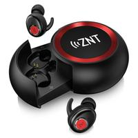 ZNT New Mini BLuetooth Earphone Professional Wireless Earbuds Stereo In Ear Bluetooth 5.0 Waterproof Wireless Ear Buds Earphone