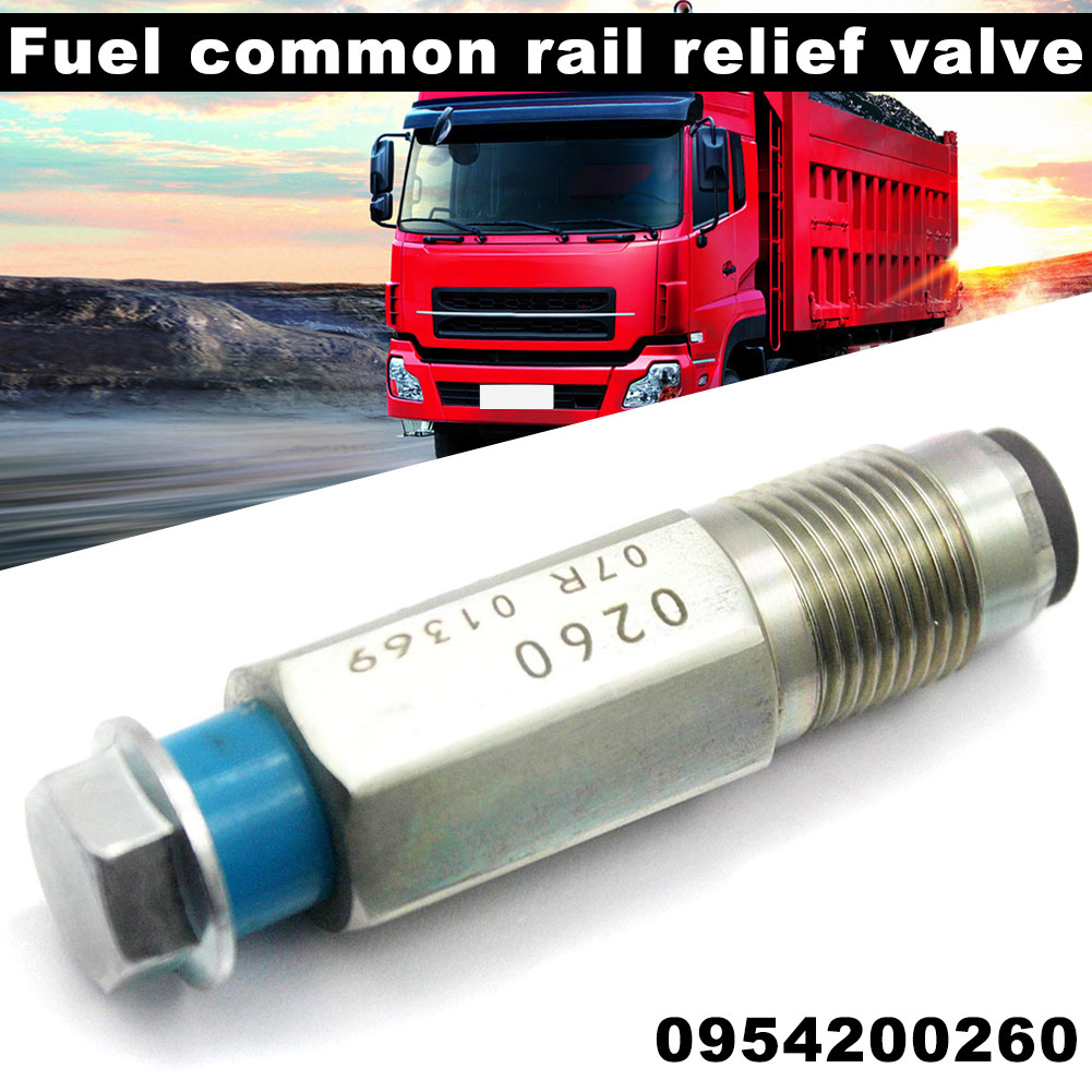 Válvula de alívio pressão combustível do trilho limitador 0954200260 para nissan navara d40 pathfinder 2.5 dci nj88