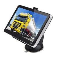7 дюймов 800*480 TFT ЖК-дисплей Дисплей GPS авто грузовик автомобиль Портативный GPS навигации навигатор спутниковой навигации 4 ГБ нам Географичес...