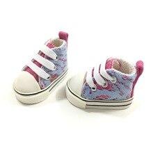 1/6 BJD обувь кукла 5 см парусиновая обувь кроссовки для кукол, мини-игрушка обувь для России DIY ручной работы аксессуары для кукол игрушки подарок для ребенка