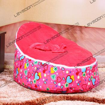 FRETE GRÁTIS saco de feijão bebê com 2 pcs up cover bebê beanbag cadeira de bebé saco de feijão cadeira de bebé cobre apenas