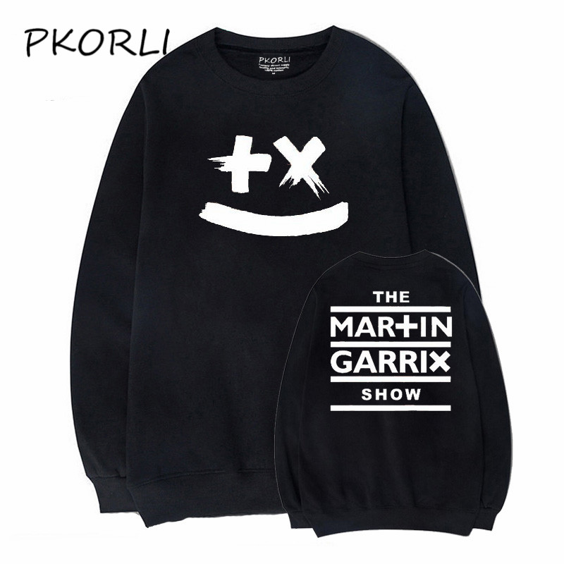 Pkorli Martin Garrix Hoodies Sweatshirt Men Fashion Music DJ GRX Fleece Pullover Hoodie Long Sleeve Hip Hop Hoody Tracksuits