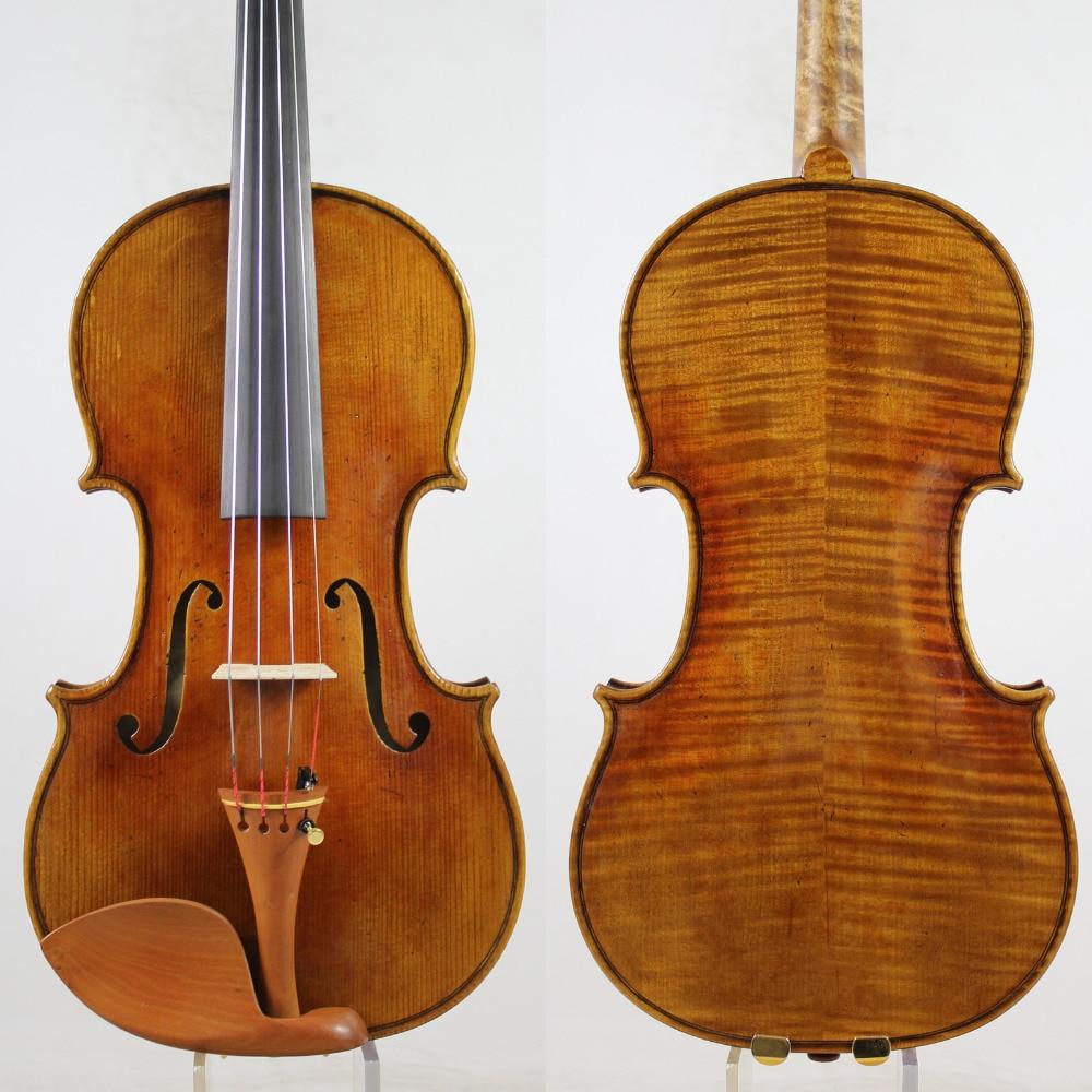 A Great Stradivarius1715 Tittan Violin 4 4 violino All European Wood Top oil varnish