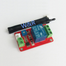 HCRM01 Thermistor Relay Control Module / Sensor / Temperature Detection / Temperature Control Switch / 5V / 12V dc 5v sulfur dioxide so2 qualitative detection sensor module 2sh12