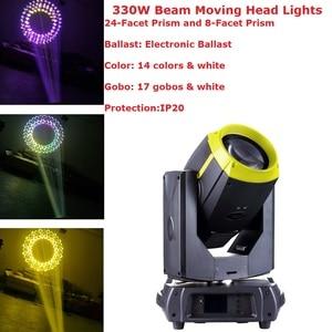 330W 15R Beam Moving Head Lights P-h-i-l-i-p Dj Disco Beam Spot Lights Electronic Ballast Professional Stage Lighting Equipments