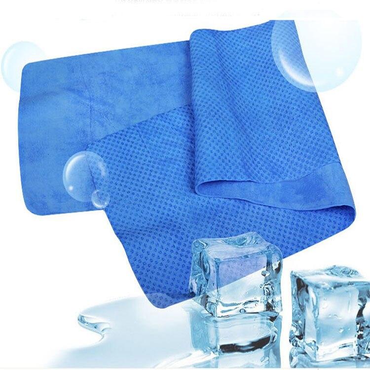 2018 Outdoor Fitness Summer Ice Cool Towels 80 * 17cm Protector solar - Textiles para el hogar - foto 6