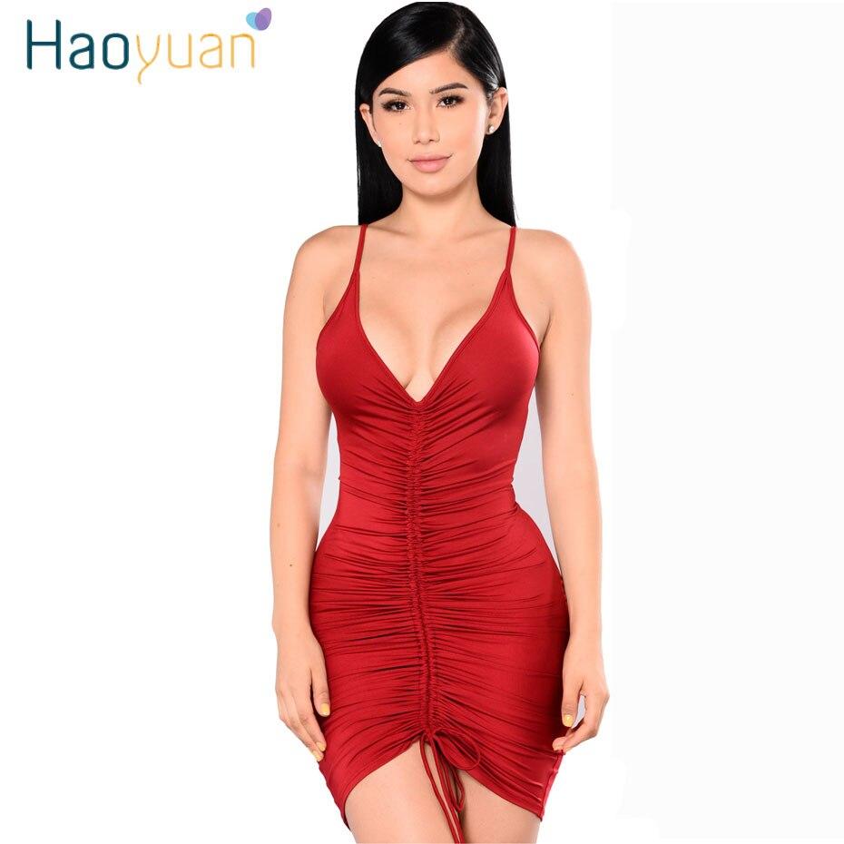 HAGEOFLY Black Ribbon Buckle Bandage Dress Rayon Hollow Out ...