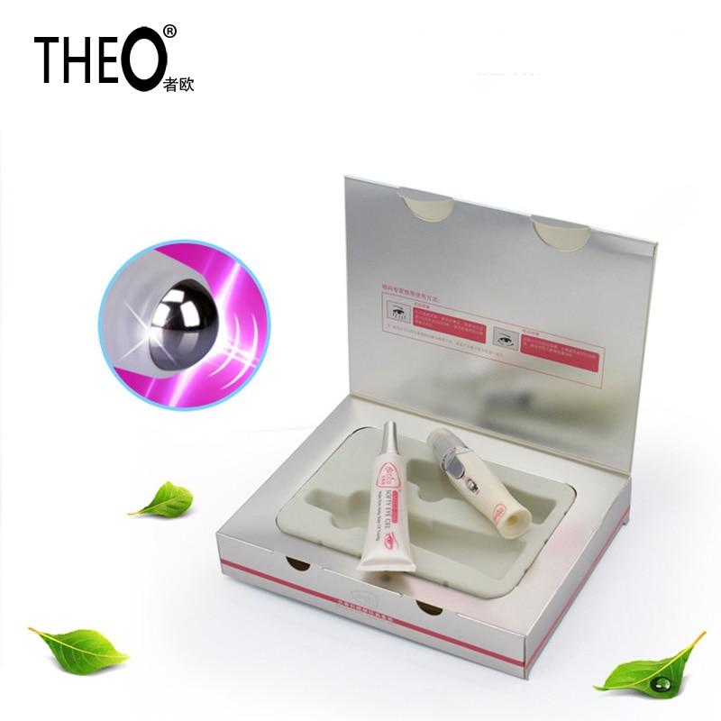 0b85d82845d1 Theo Galvanic Eye Massager Beauty Health Care Massage Face And Eye Massager  Remove Wrinkles Dark Circles Machine 1 set HQT-1228