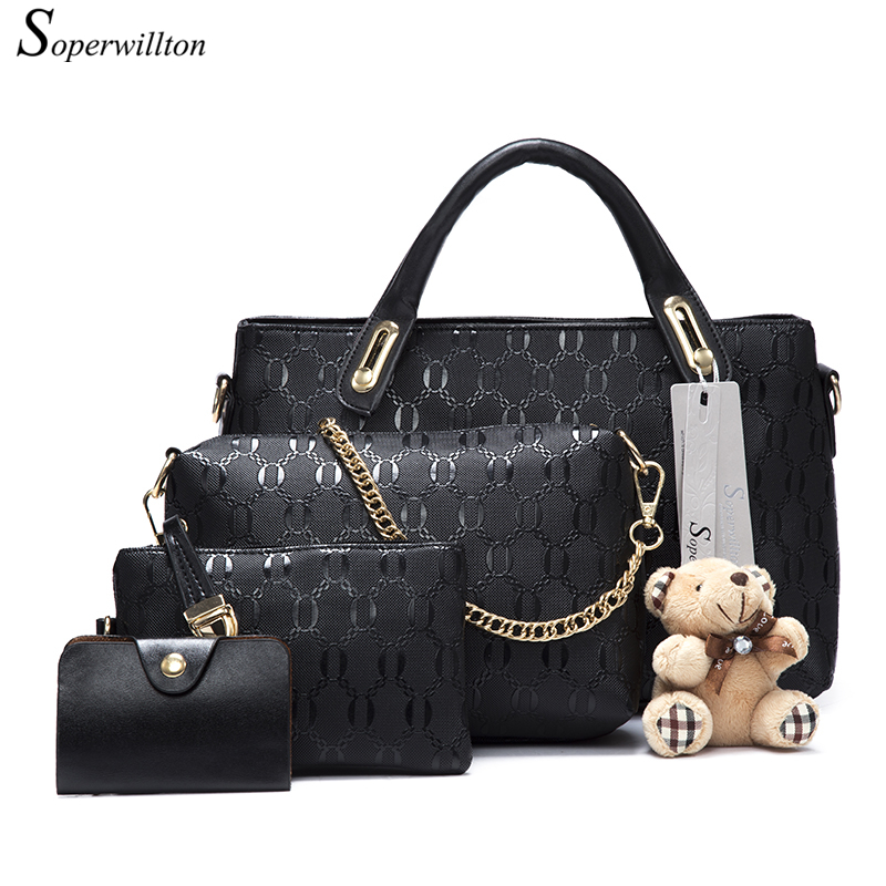 Soperwillton Famous Brand Women Bag Top-Handle Bags 2017 Fashion Women Messenger