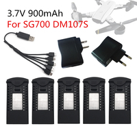 NEW VISUO SG700 DM107S Lipo Battery 3.7V 900mAh RC Quadcopter Spare Parts Accessories Rechargeable BATTERY for RC Drones