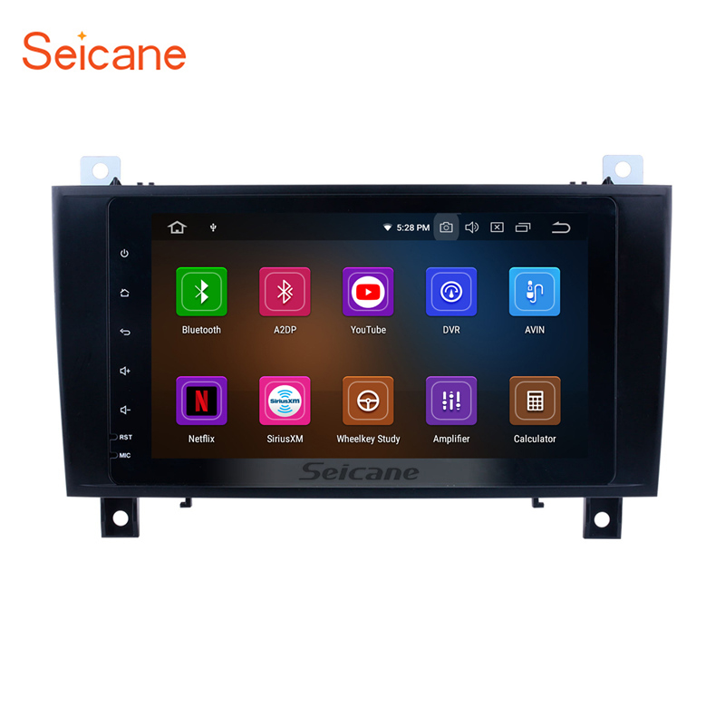 Seicane Android 9 0 Car Multimedia Player For 2000 2001 2002 2011 Mercedes SLK Class R171