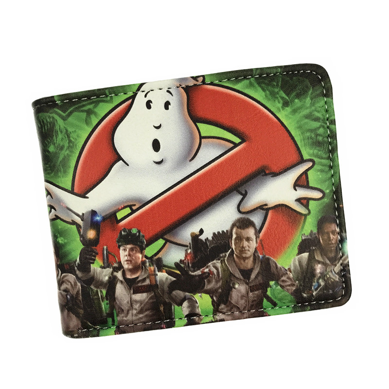 New Arrival Anime Cartoon Wallet GHOST BUSTERS Star Wars Zelda Superman Credit Card Holder Cartoon Wallets fvip wholesale wallet ghost busters minions despicable me doctor who rolling stone inside out nintendo wallets