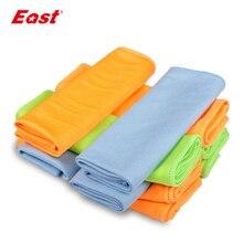 East toallas de microfibra de vidrio para limpieza de ventanas, paños de limpieza de parabrisas, paños de vidrio duraderos de secado rápido, 30x40CM, 5 uds.