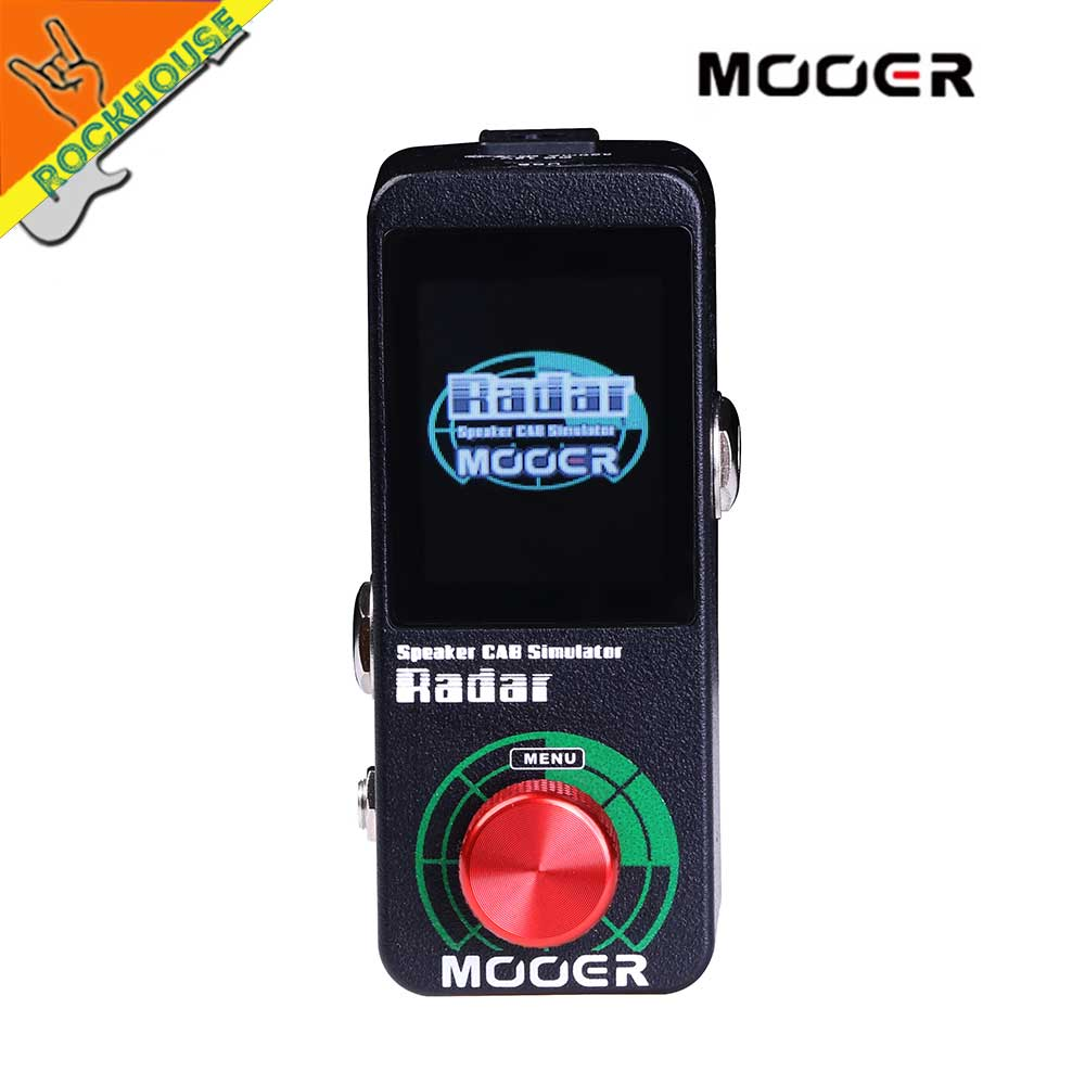 2018 NEW MOOER Radar is a full-featured professional speaker simulator with 30 different speaker cab models 36 user presets USB