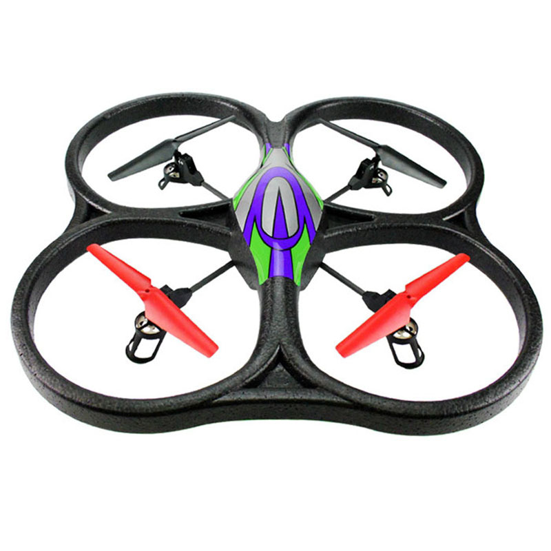 New WLtoys V262 6 Axis Gyro 2.4G 6.5CH RC Drone With Long Remote Cotrol 360 Degree Rollover Night Light Aircraft with Mountable navigation led light lamp system with 7 operating modes for rc six axis multi axis aircraft 6 axis drone