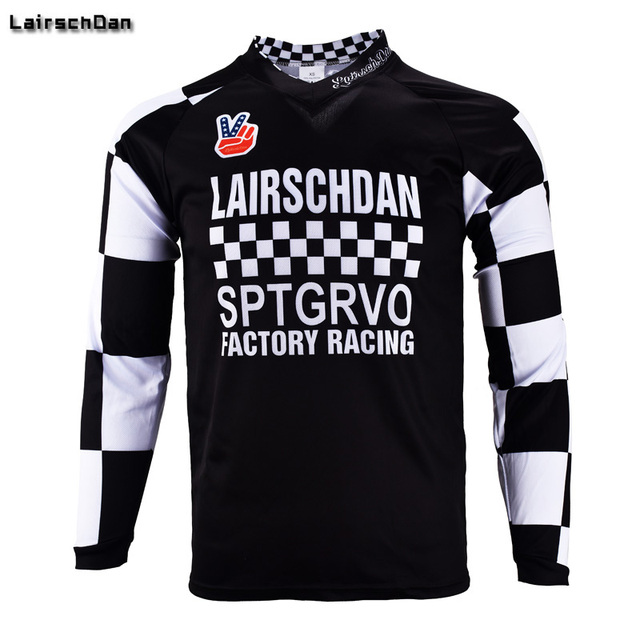 d8f18ec9b20 SPTGRVO LairschDan Mtb Jerseys New Enduro Mountain Bike Motocross Cycling  Jersey Fox BMX DH Long Sleeve MTB Downhill Tshirt sale