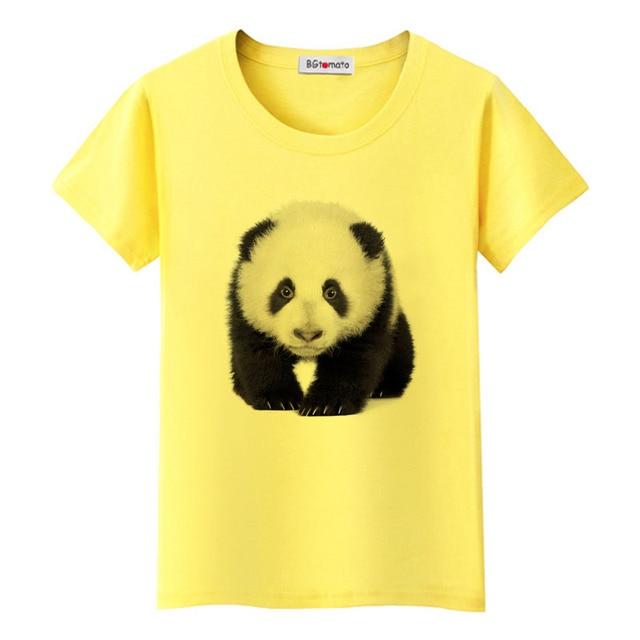 e17ecd353f77 BGtomato Lovely 3D panda t-shirt cheap sale original brand casual top tees  funny shirts cute panda 3D printing tshirt cheap sale