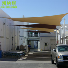 6 x 8 M pcs Customized Rectangle Shade Sails with 95 UV protection for Pool Factory