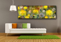 HD Dandelion fluff collage Wall Art Canvas Poster Print Wall Art Painting Art Pictures For Living Room Home Decor Unframed