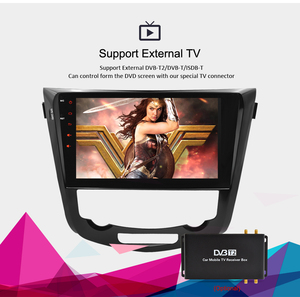 Image 3 - IPS Screen Android 9.0 Car DVD Player for Nissan X Trail Qashqail 2014 2017 GPS Navigation Radio Video FM Stereo Multimedia