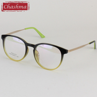Students Glasses Ultra Light TR 90 Round Optics Glasses Frame Eye Glasses
