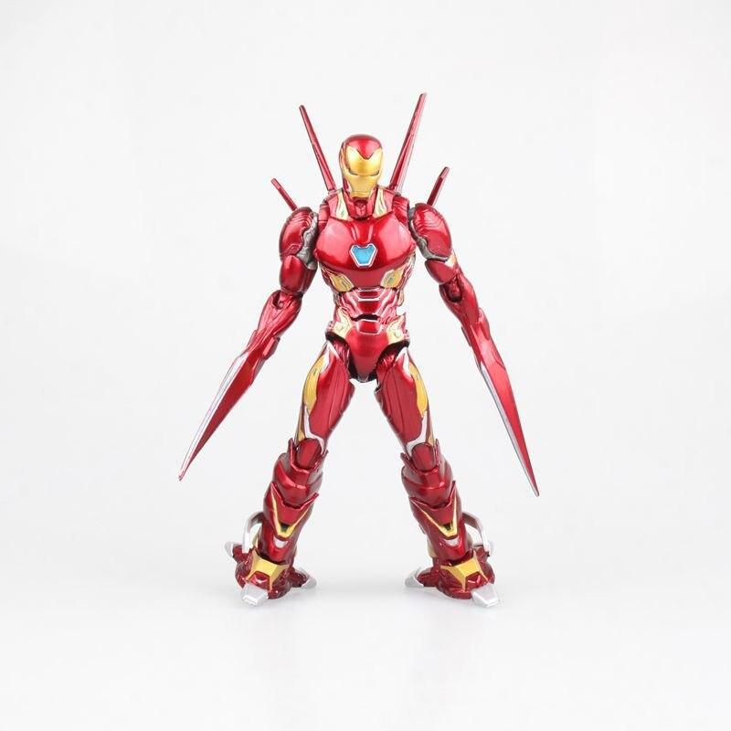 SHF S. H. Figuarts Marvel Avengers Infinity War Iron Man MK50 ensemble d'arme PVC figurine à collectionner modèle super-héros jouets poupée