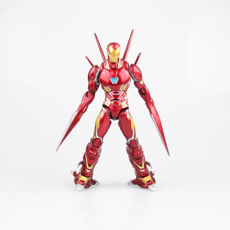 SHF S.H.Figuarts Marvel Avengers Infinity War Iron Man MK50 Weapon Set PVC Action Figure Collectible Model Superhero Toys DollSHF S.H.Figuarts Marvel Avengers Infinity War Iron Man MK50 Weapon Set PVC Action Figure Collectible Model Superhero Toys Doll