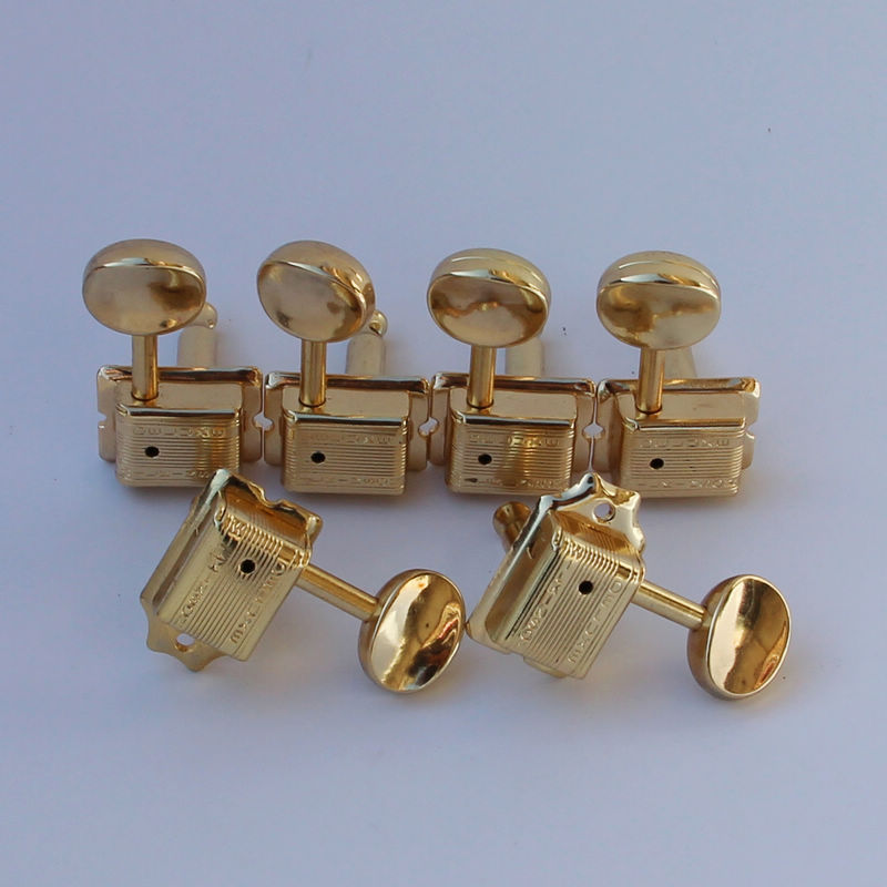 WILKIINSON VINTAGE GOLD TUNERS FOR ST TL GUITAR OR SIMILAR WJ 55
