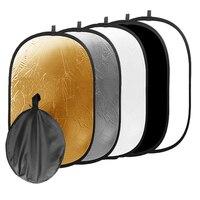 90 120cm 5 In 1 Photo Photography Studio Video Light Collapasible Reflector
