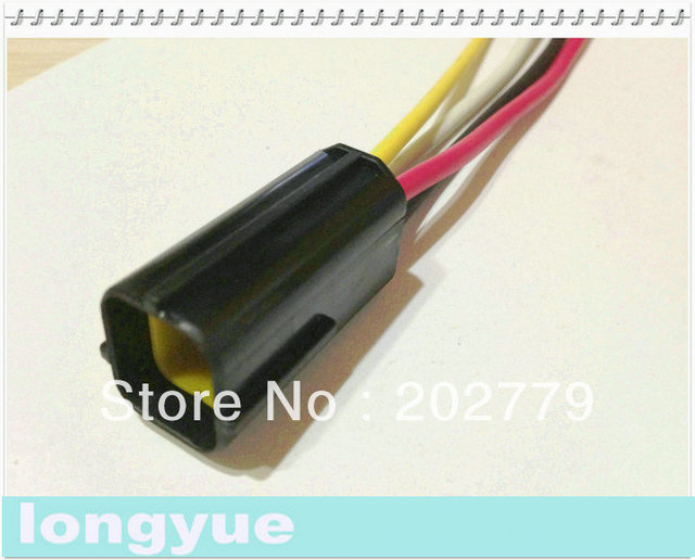 longyue 10sets 4 pin pigtail connector automotive wiring harness rh aliexpress com Automotive Wire Covers Automotive Wire Terminals