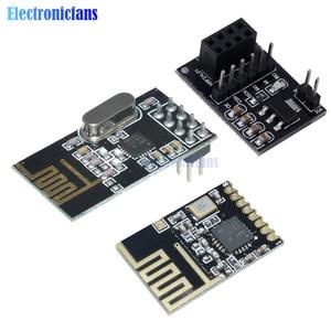 NRF24L01 + модуль беспроводной передачи данных 2, 4G/NRF24L01 обновленная версия 2 Мбит/с NRF24L01 плата адаптера гнезда