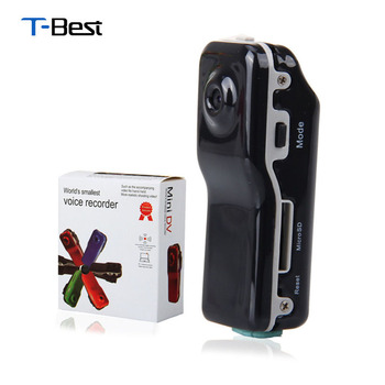 MD80 Mini DV Camcorder DVR Video Camera Webcam Support 16GB HD Cam Sports Helmet Bike Motorbike Camera Video Audio Recorder