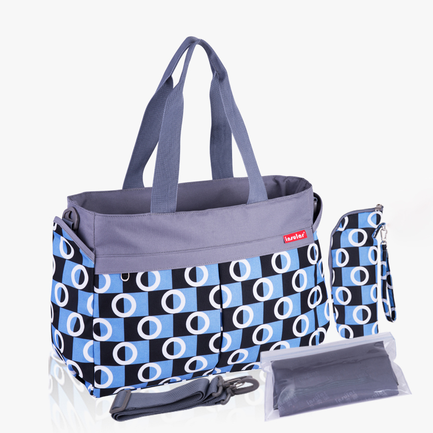 2019 New Multicolored Dot Maternity Mother Diaper Bags Baby Nappy Changing Stroller Bags Mom Big Handbag Mummy Diaper Bag