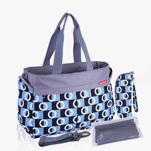 2019 nowy wielobarwny Dot macierzyństwo matka torby na pieluchy pieluszka dla niemowląt zmiana torby do wózka mama duża torebka torba na pieluchy dla mamy tanie tanio insular Poliester zipper Tote bag 14 5cm 38cm (30 cm Max Długość 50 cm) diaper bag 0 6kg 29 5cm