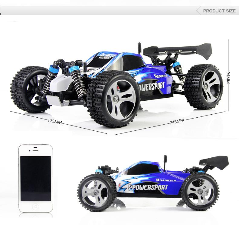 YUKALA Supper Racing Car A959 2.4G Remote Control Car RC monster truck 4WD With 40-60km/hour High speed rc electric car remote control 1 32 detachable rc trailer truck toy with light and sounds car