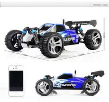 YUKALA Supper Racing Car A959 2 4G Remote Control Car RC monster truck 4WD With 40