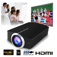YG500 Mini Projector 1080P home theater 5.1 Portable 1800Lumen LED Projector Home Cinema USB HDMI 3D Beamer Bass Speaker Projec