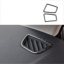 lsrtw2017 carbon fiber car dashboard upper vent trims for bmw 3 series 320 318 316 325 330 335 340 328 e90 e91 e92 2005-2012 цена и фото
