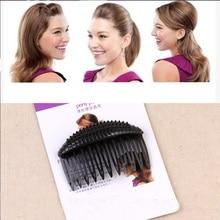 1PC New Women Hair Accessories Updo Princess Girls Hair Combs Head Bands Pad bulkness Hair Clips Bun Maker Tools Headbands
