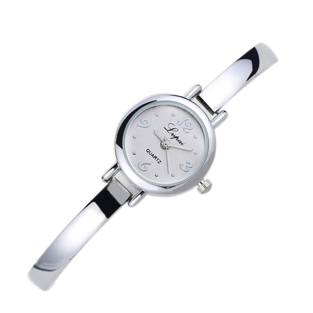 Lvpai Märke Kvinnor Lady Girl Quartz Armbandsur Klocka Damklänning Present Guld Klockor Relogio feminino Klocka Klockor 2017 Ny