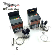 TWH мотоцикл 44 мм 48 мм 50 мм 54 мм поршневой диаметр 12 мм Pin кольцо Набор прокладок для Honda DIO AF17 AF18 AF27 AF28 ZX50 AF34 AF35 DIO50