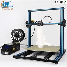 Быстрее Разогреть CREALITY 3D CR-10 Большой Размер Печати 500 мм Reprap Prusa i3 3d-принтер DIY комплекты бесплатно ПЛА накаливания 8 ГБ SD карты