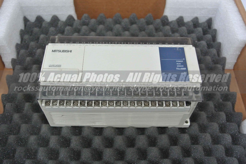 FX1N-60MR-001 Used Good In Conditon With Free DHL /EMS mr j2s 20b used good in conditon with free dhl ems