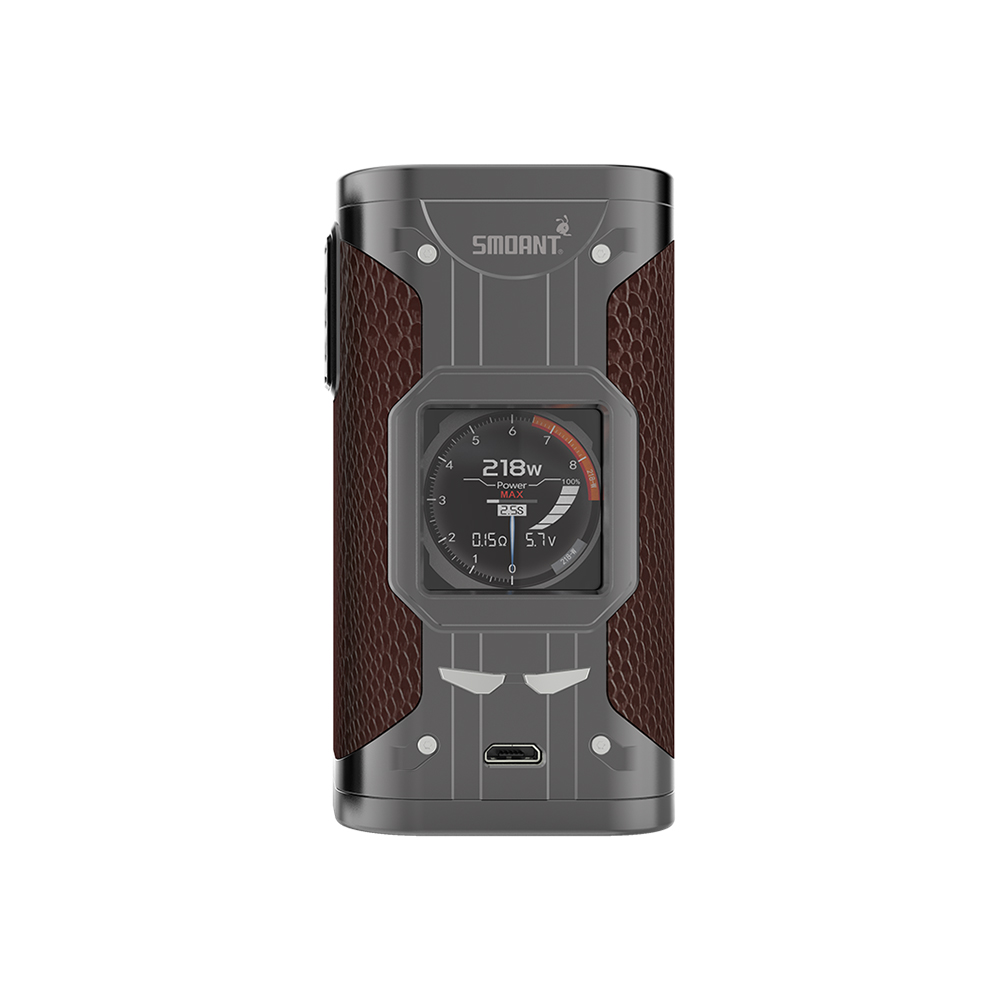 Original Smoant Cylon 218W TC Box MOD Powered By Dual 18650 Cells Fast Firing & Updated Ant218 V2 Chipse Ecig Vape Mod VS Drag 2-in Electronic Cigarette Mods from Consumer Electronics    3