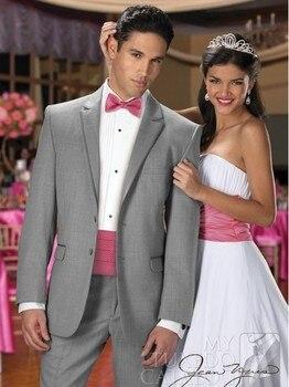 Gray Wedding Suit For Men Custom Made,Tailor Made Groom Suit Mens three Piece Suit,Bespoke Suit Men Wedding/Business/Formal Suit