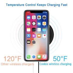 Image 4 - Ultra Slim צ י אלחוטי מהיר מטען Pad עבור Apple iPhone 11 פרו XS Max XR X S 8 בתוספת Samsung s9 S8 הערה 9 10W אלחוטי טעינה