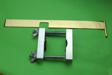 Violin making tools, 4/4 violin neck install clamp and prolongation measurement