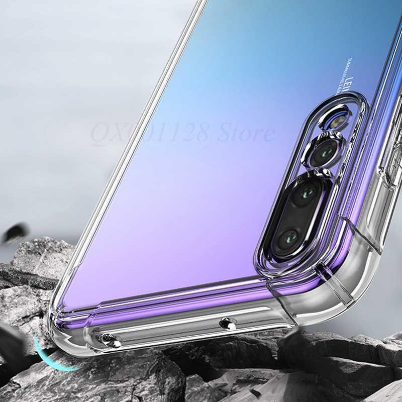 Shockproof Bening Case untuk HUAWEI Mate 20 Lite 20 X Mate 10 Pro P20 Nova 3i 3 Cover untuk Kehormatan 8X Max 8C Catatan 10 9i 9 Y9 2019 6C