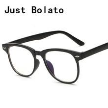 New Fashion Square Óculos Frames Homens Óculos de Marca Moldura Preta Com Óculos de Computador Vidros Do Olho Mulheres Óculos